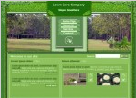 lawn website template